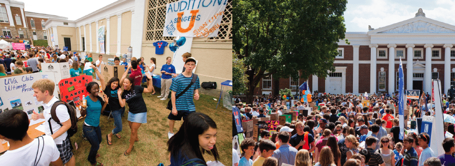 Student activities at UVa